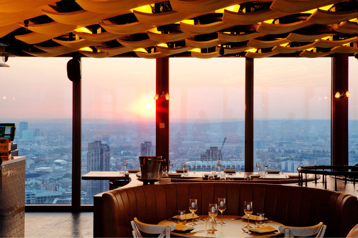 Duck & Waffle's views. Source: Network London via Bloomberg