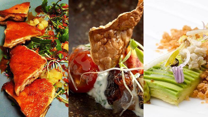 Food from three Lima restaurants: Central Restaurante, Maido and Astrid y Gaston.The restaurants via Facebook