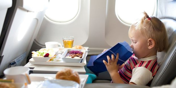At best, the food in a plane is edible. At worst, the barf bag seems more appealing. Photo / 123RF
